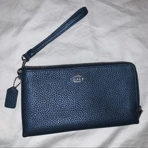 NWOT Coach Double Zip Wallet/Wristlet